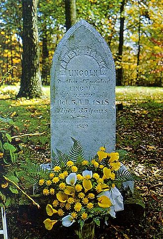 Nancy Lincoln - Nancy Hanks Lincoln Gravestone