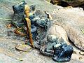 Nandi carrier of Siba (Shiva) Panchalingeswar Baleswar.JPG