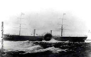 SS Ville du Havre - Image: Napoleon III ship