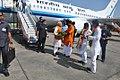Narendra Modi at Darbhanga airport.jpg