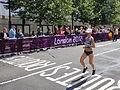 Natalia Cerches (Moldova) - London 2012 Women's Marathon.jpg