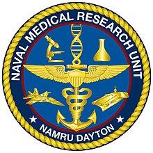 Naval Medical Research Unit Dayton logo.jpg
