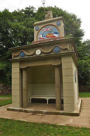 The Kymin - Image: Naval Temple on the Kymin, Monmouth (0137)
