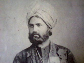 Muhammad Hayat Khan - Nawab Muhammad Hayat Khan 1860s