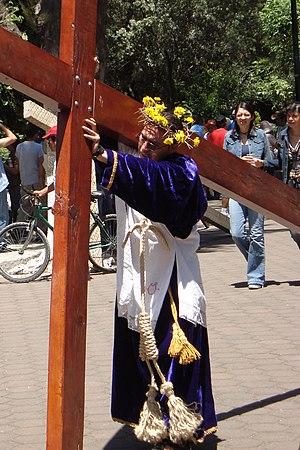 Nazareno en La Cuevita