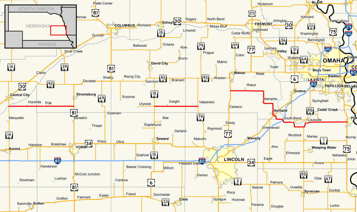 Nebraska Highway 66 Wikipedia