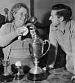 Neil Harvey with mother 1953b.jpg