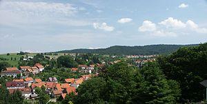 Nentershausen, Hesse - View over Nentershausen (main centre)