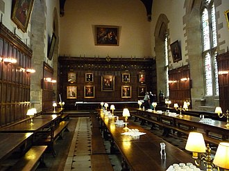 New College, Oxford - Hall