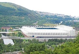 Liberty Stadium - Image: New Morfa Stadium geograph.org.uk 32243