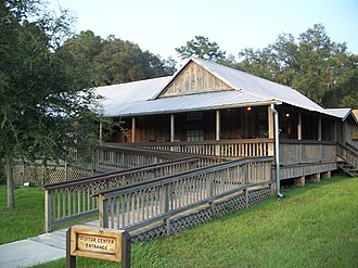 Florida State Parks in Alachua County - Dudley Farm visitor center