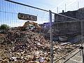 Newport Pyle Street house demolition works in May 2012 2.JPG