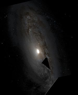 Anemic galaxy - NGC 4569 is also an example of an anemic galaxy.