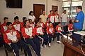 Niños ganadores de las Olimpiadas Especiales Intercantonales visitaron al Alcalde (11106519056).jpg