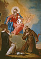 Nicola Grassi - Rosary Mother of God with Sts Dominic and Francis of Assisi - WGA10381.jpg