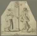 Nicolai Abildgaard - Mænader danser omkring en herme af Dionysos.png