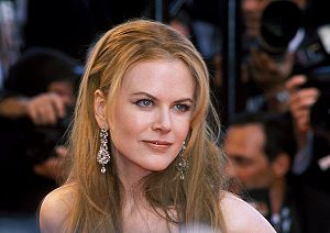 Nicole Kidman at Cannes in 2001.