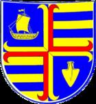 Das Wappen von Niebüll
