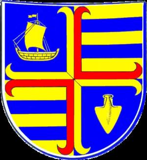 Niebüll - Image: Niebuell Wappen