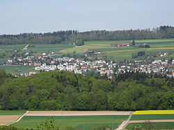 Skyline of Niederrohrdorf