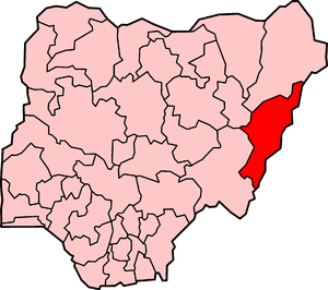 English: Adamawa State, one of the States of N...