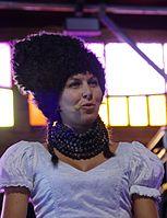 Nina Garenetska (DakhaBrakha) (Haldern Pop 2013) IMGP6609 smial wp.jpg