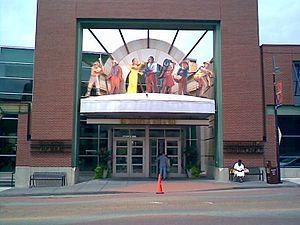 Negro Leagues Baseball Museum - Image: Nlbmandjazz