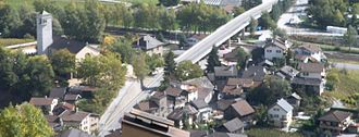 Sierre - Noës village