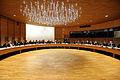 Nordiska radets presidium haller mote med de nordiska statsministrarna under session i Helsingfors 2008-10-28.jpg