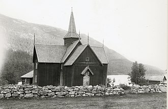 Nore Stave Church - Nore Stave Church in 1931