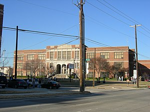 Oak Lawn, Dallas - North Dallas High School