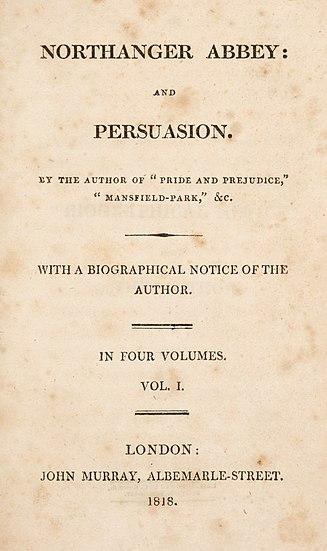 persuasion by jane austen read