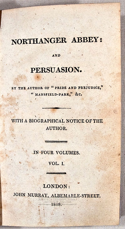 Picture of a book: Persuasion