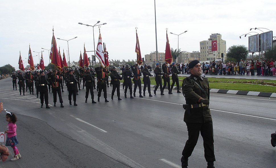 Northern Cyprus Republic Day parade 2007 2