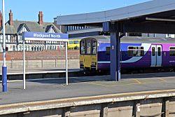 Northern Rail Class 150, 150117, Blackpool North railway station (geograph 4500151).jpg