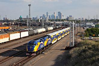 Northstar Line - Image: Northstar Doubleheader