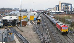 Nottingham Eastcroft Stabling Point 20140104.jpg