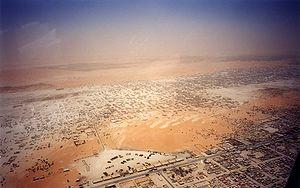 Nouakchott - Aerial view of Nouakchott