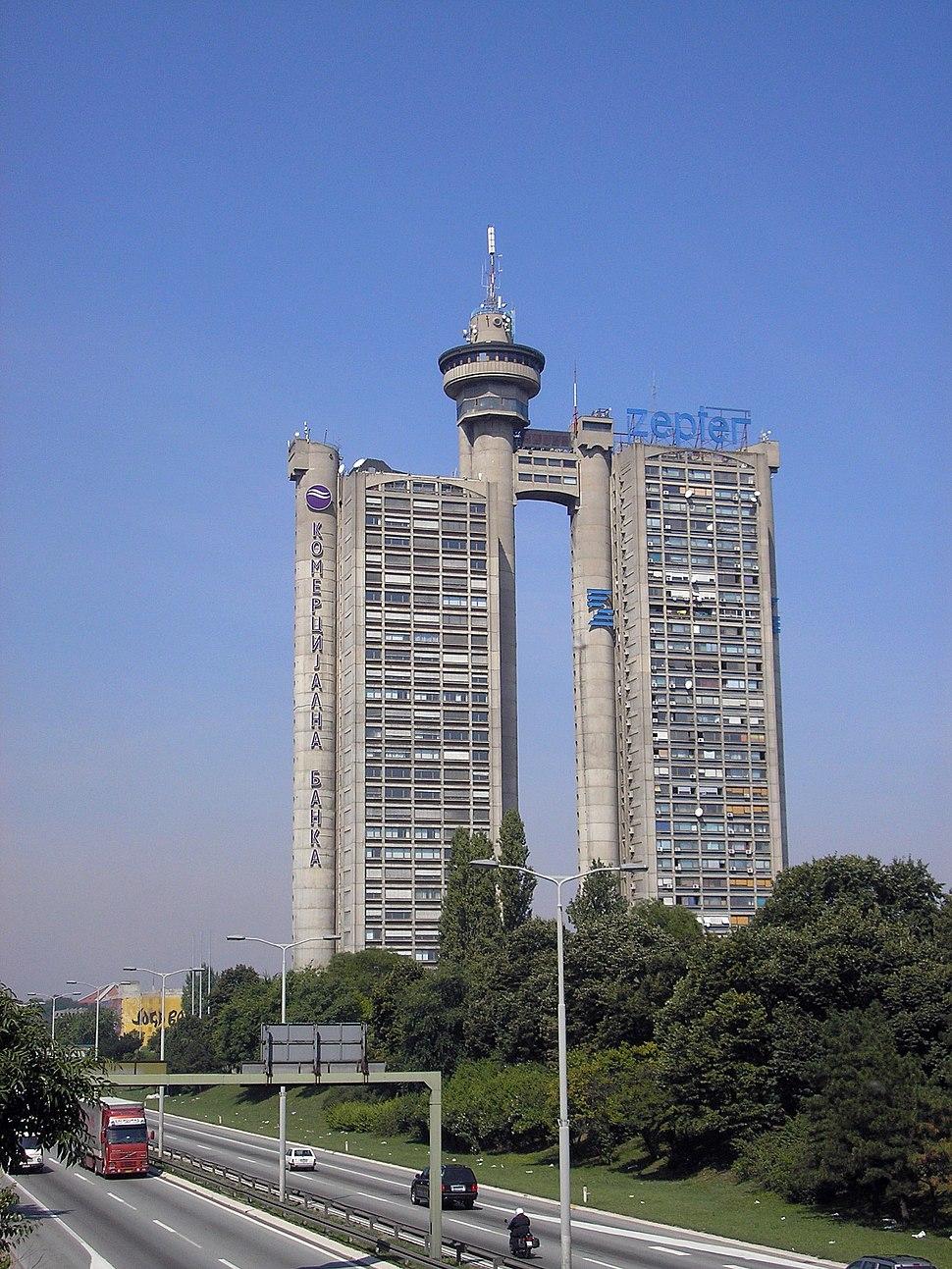 Novi Beograd - West Gate 01