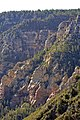 Oak Creek Canyon seen from the overlook vista (4106758723).jpg