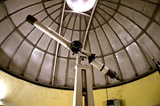 St. Xavier's College, Kolkata - Observatory is situated on the top floor of the main college building