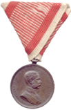 Obverse of the bronze medal for bravery (Austria-Hungary, Franz Joseph I).png