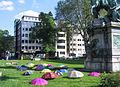 Occupy, Düsseldorf, May 2012, umbrellas (1).jpg
