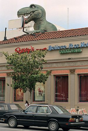 Robert Ripley - Ripley's Odditorium in Hollywood