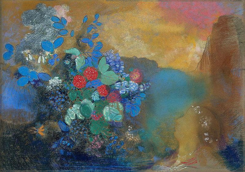 File:Odilon Redon, Ophelia among the Flowers, The National Gallery, London.jpg