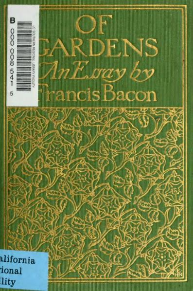 File:Of Gardens, Bacon, 1902.djvu