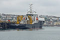 Offshore Supply Ship SD Victoria, at Falmouth (17148747832).jpg