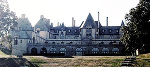Oheka Castle - Oheka Castle seen from the east