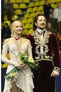 Oksana DOMNINA Maxim SHABALIN European Championships 2008.jpg