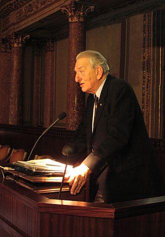 George Andrew Olah - George Andrew Olah speaking in 2009